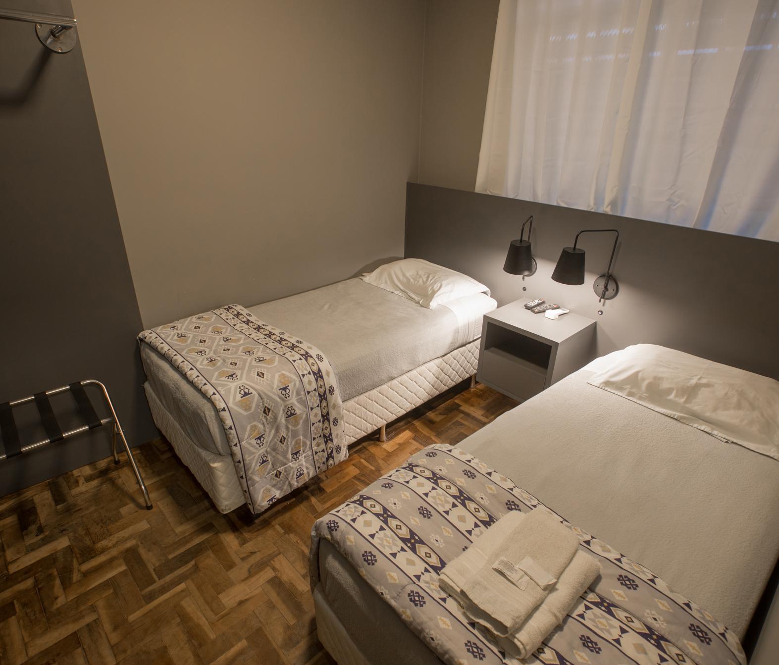 Apartamento single com ventilador